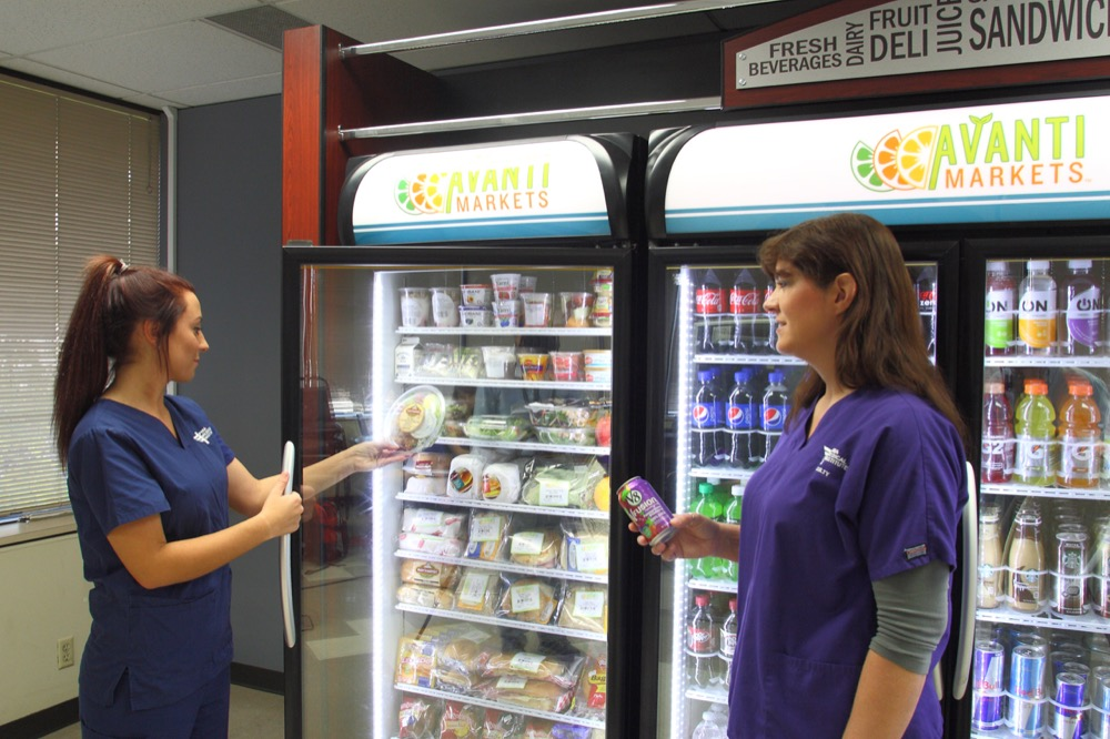 Vending machines and self-serve micro-markets in Nashville