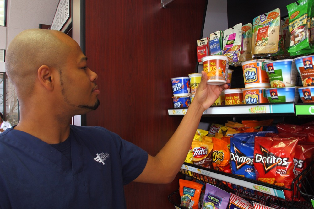 Vending machines and Nashville self-serve micro-markets