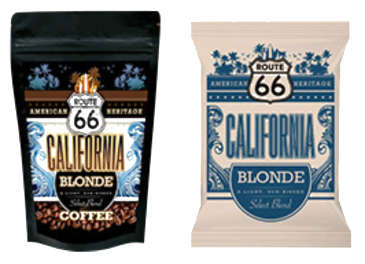 Route 66 coffee products in Orlando & Central Florida